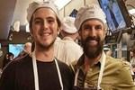 Harun Tan oğlundan mutfak sırlarını öğrendi