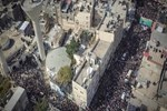Gazze şehitlerini uğurladı!