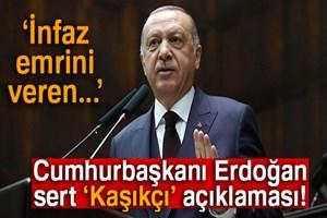 Cumhurbaşkanı Erdoğan'dan çok sert 'Kaşıkçı' açıklaması!