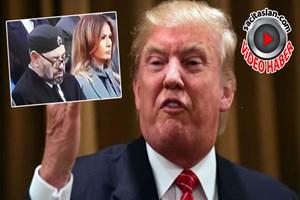 Fas Kralı uyudu, Trump sinirlendi!