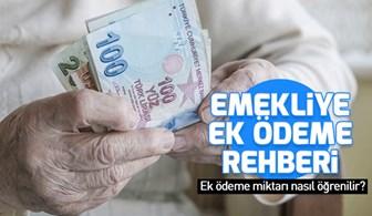 Emekliye ek ödeme rehberi