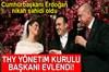 Cumhurbaşkanı Recep Tayyip Erdoğan, Türk Hava Yolları (THY) Yönetim Kurulu Başkanı İlker Aycı ile...