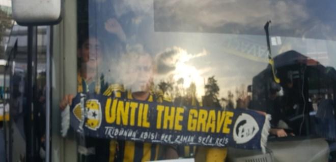 Fenerbahçe taraftarları derbi için yola çıktı