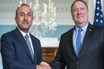 Bakan Çavuşoğlu, ABD Dışişleri Bakanı Pompeo ile görüştü
