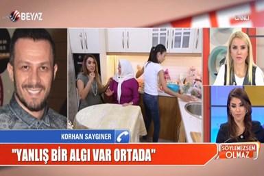 Korhan Saygıner'den Acun Ilıcalı'ya canlı yayında cevap!