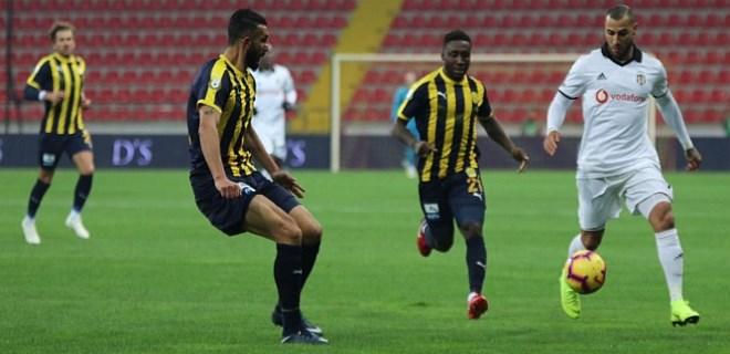 MKE Ankaragücü: 1 - Beşiktaş: 4