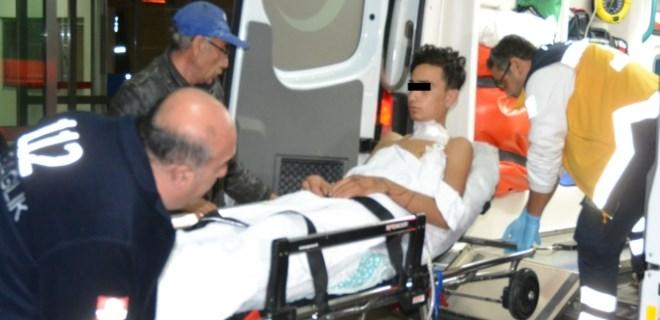 Dur ihtarına uymadı, seken kurşunla yaralandı!
