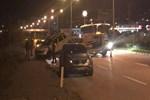 Giresun'da alkollü sürücü polislerin arasında daldı