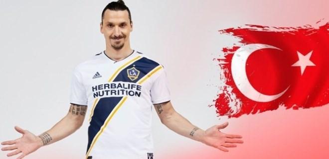 Zlatan Ibrahimovic'in hesabından Türk bayraklı paylaşımlar!