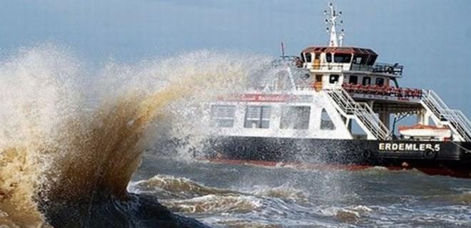 İstanbul-Bursa-Bandırma feribot seferleri iptal edildi!