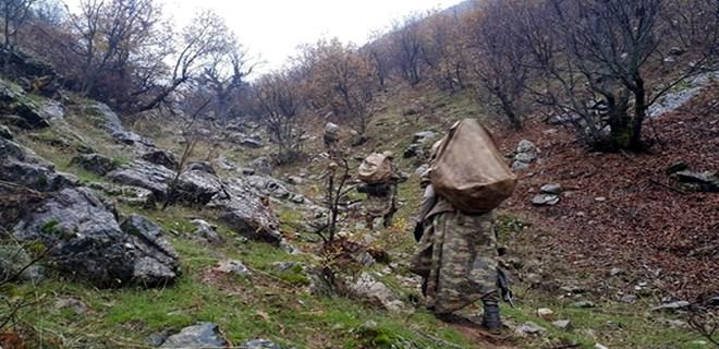 Diyarbakır'da PKK'nın kış sığınakları imha edildi