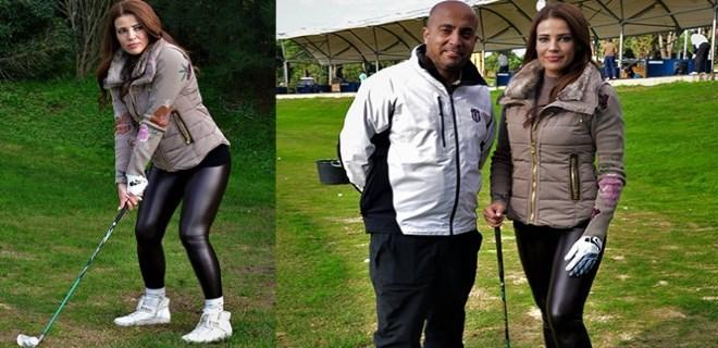 Esra Sönmezer'in yeni tutkusu golf