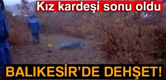 Kız kardeşi abisini otlak yüzünden öldürdü!