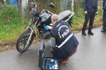 Samsun'da ilginç motosiklet hırsızlığı