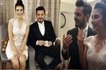 Barış Yurtçu ile Deniz Baysal İzmir'de nişanlandı!