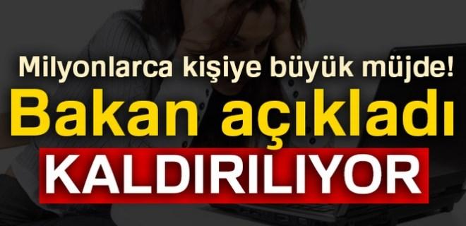 Bakan Turhan'dan adil kullanım kotası açıklaması