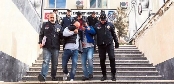 İstanbul'un göbeğinde 'sahte polis' dehşeti!