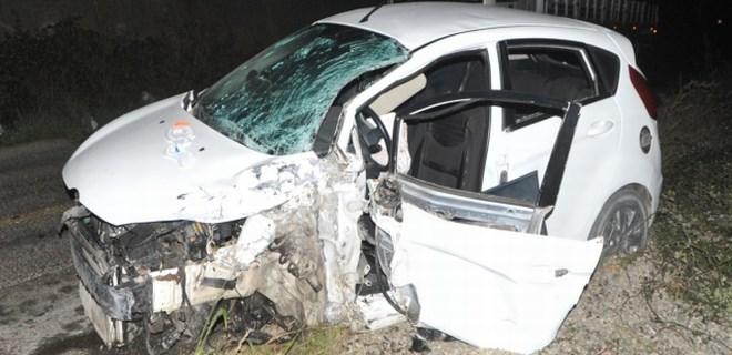 Bafra'da kaza: 7 yaralı!