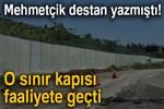 Zeytin Dalı Gümrük Kapısı faaliyete geçti