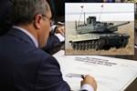 Altay tankı için imzalar atıldı