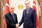 Bahçeli - Erdoğan buluşması