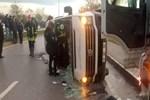 Çanakkale'de feci trafik kazası