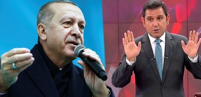 Erdoğan'dan Fatih Portakal'a sert sözler!