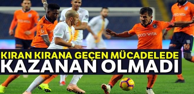 Galatasaray, Başakşehir'i deplasmanında 4 maçtır yenemiyor