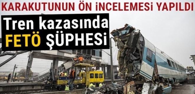 Tren kazasında FETÖ şüphesi!