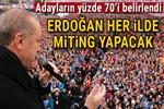 AK Parti'de adayların yüzde 70'i belirlendi