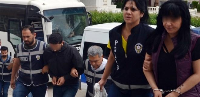 Bergen'i öldüren kocasının eski gelini fuhuş yaptırmaktan tutuklandı