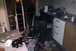 Çamaşır makinesi tek yıkamada kül oldu!