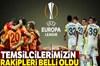 UEFA Avrupa Ligi Son 32 Turu'nda temsilcilerimiz Fenerbahçe ve Galatasaray'ın rakipleri belli oldu....