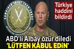 ABD'li asker Türk askerinden özür diledi