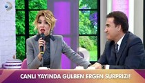 Canlı yayında Gülben Ergen sürprizi!