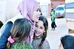Gamze Özçelik İdlib'e gitti