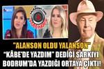 Mazhar Alanson'un 'Kâbe'ye yazdım' dediği şarkı 'Bodrum aşkı' çıktı!