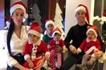 Cristiano Ronaldo ailesiyle Noel'i kutladı