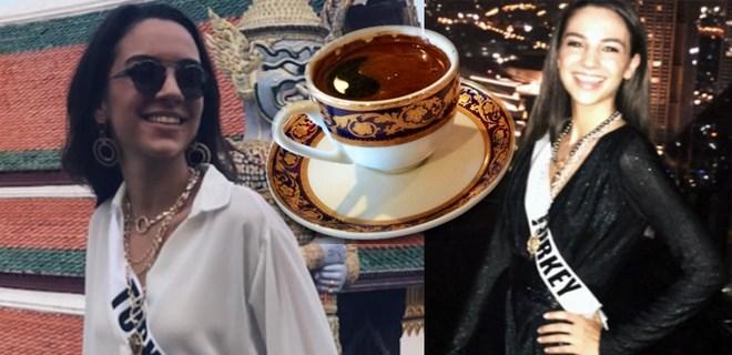 Tara'dan güzel rakibelerine kahve ikramı