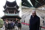 TBMM Başkanı Yıldırım, Xi'an Büyük Cami'ni ziyaret etti