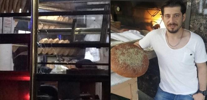 Ekmek fırınında dehşet veren olay!