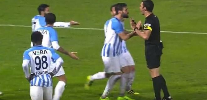 Başakşehir'in kupa maçında ortalık karıştı!