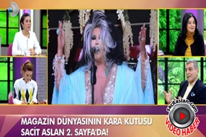 Sacit Aslan'dan Bülent Ersoy'un seviyesiz söylemlerine yanıt