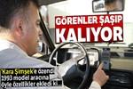 'Kara Şimşek'e özendi, 1993 model otomobilini konuşturdu!