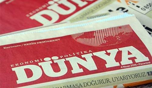 Dünya Gazetesi'nde çalışanlar 5 aydır maaş alamıyor!