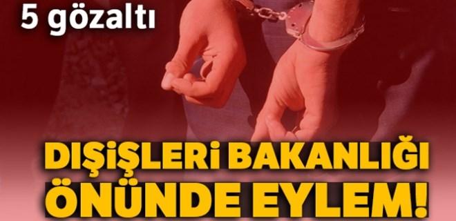 Türkiye Gençlik Birliği üyelerine polis müdahale etti!