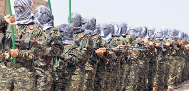 Sakallarını kesip Afrin'e getirdiler