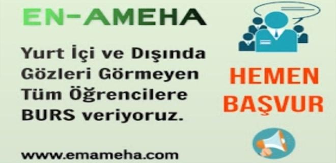 'En-Ameha' gözleri görmeyen öğrencilere burs veriyor!