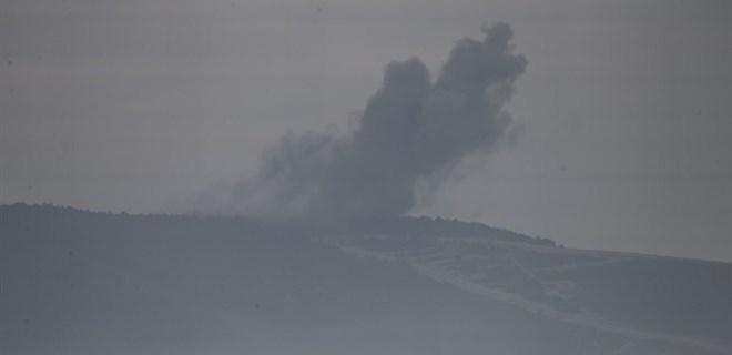 Afrin bölgesindeki terör hedefleri ateş altında