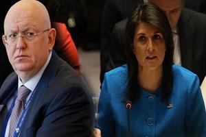 ABD ve Rusya, BMGK'da birbirine girdi!
